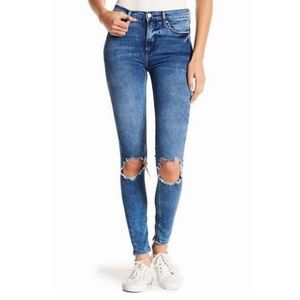Free People High Rise Skinny Jeans size 28